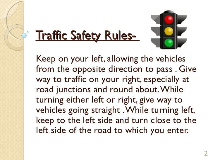 essay on safety rules for kids