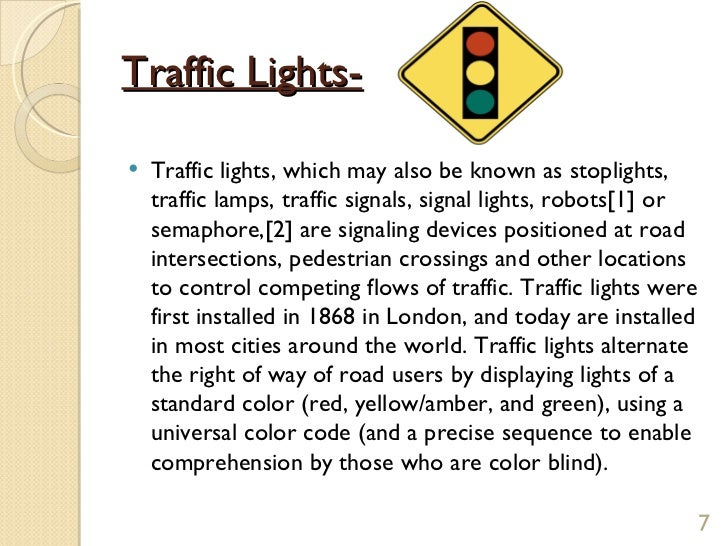 importance of traffic regulation