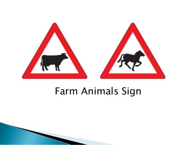 Farm Animals Sign
