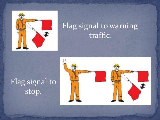 Warning to slow moving      vehicles.