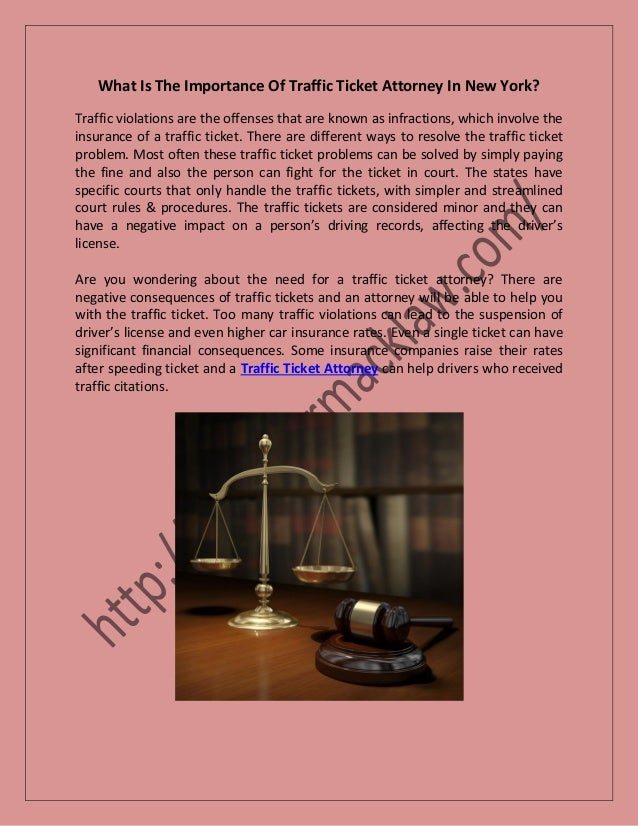 Nyc Traffic Ticket >> Traffic Ticket Attorney In New York Do You Need A Lawyer For