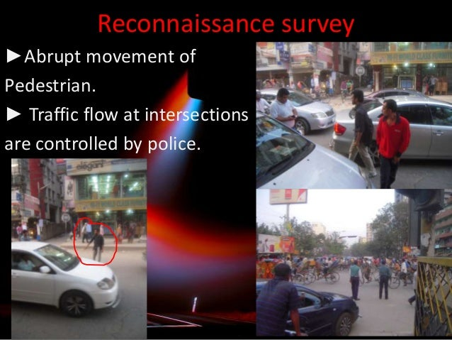 intersection volume study report