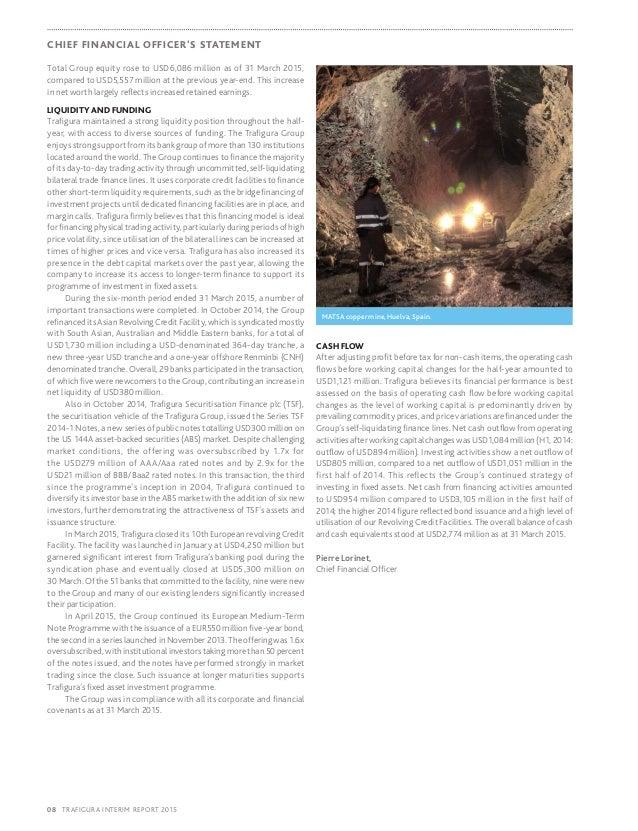 Trafigura 2015 Interim Report