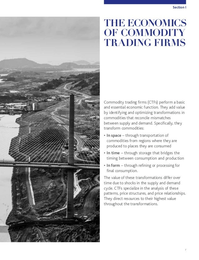 Commodity trading systemic risk