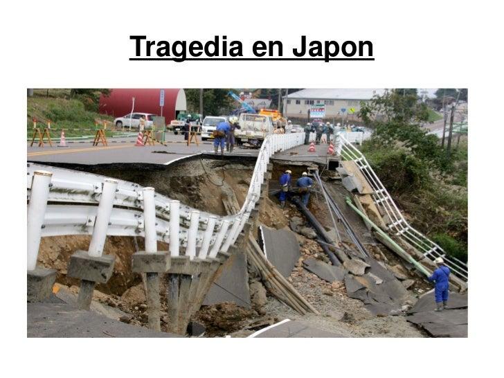 Tragedia en Japon