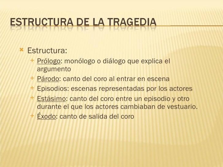 estructura de un monologo