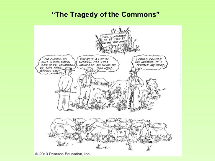 """The Tragedy of the Commons"""