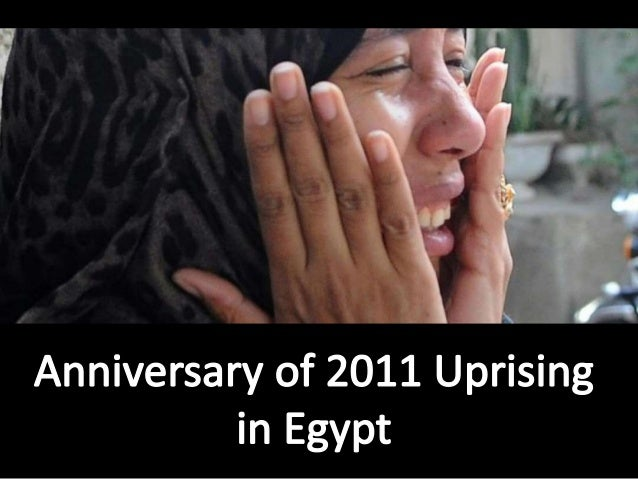 Tragedy on the Anniversary  of 2011 Uprising in Egypt