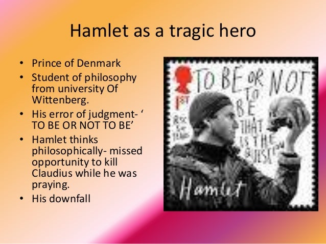 Essay/Term paper: Hamlet as a tragic hero