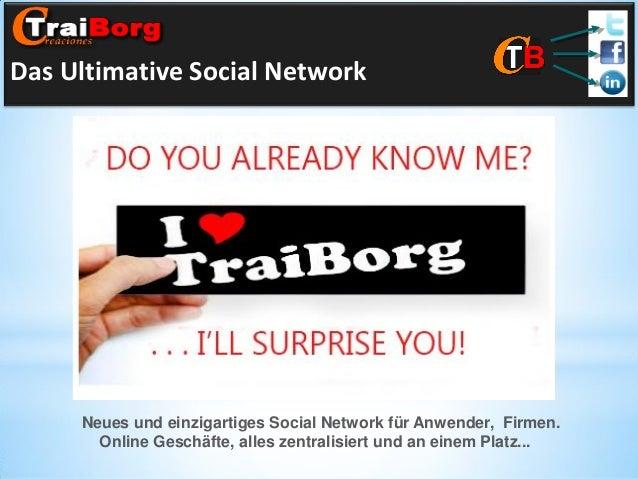 Das Ultimative Social Network  Neues und einzigartiges Social Network für Anwender, Firmen. Online Geschäfte, alles zentra...