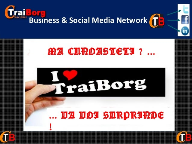 Social Network definitiv Business & Social Media Network  MA CUNOASTETI ? ...  ... VA VOI SURPRINDE !