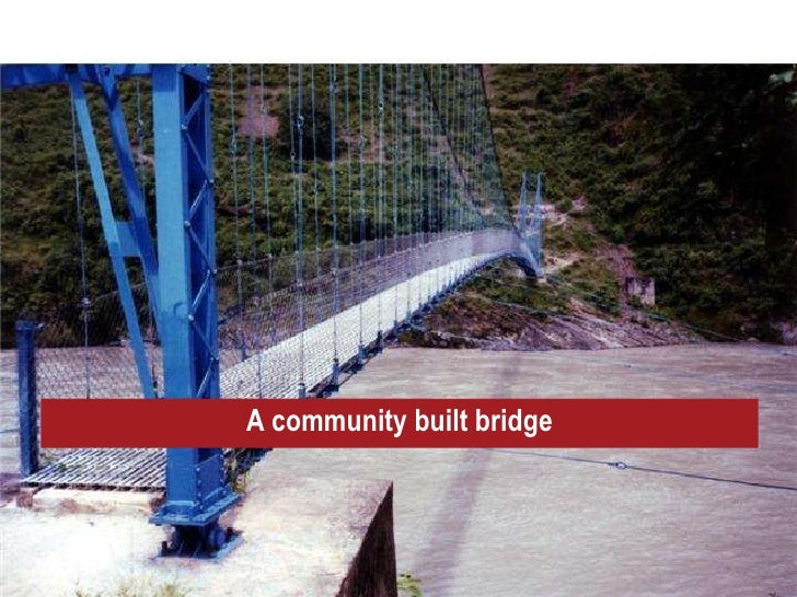 trail bridge in nepal Trail – bridge support program is a live program in context of kalikot it focuses on physical infrastructure to install suspension bridge, livelihood.