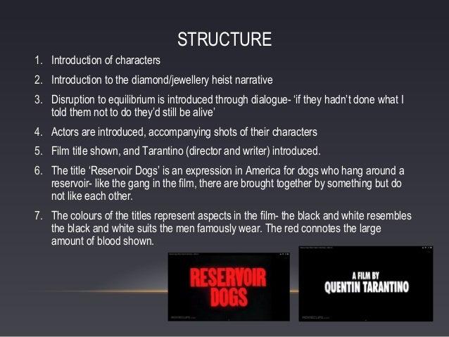 reservoir dogs film analysis