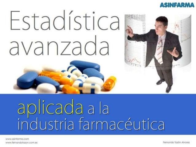 Trailer Estadistica avanzada, aplicada a la industria farmacéutica