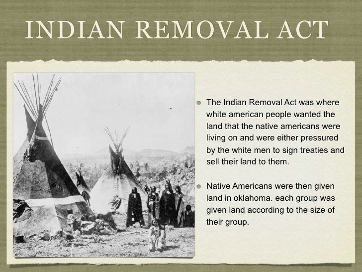 Indian Removal Act Trailoftears