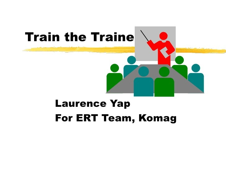 Train the Trainer Laurence Yap For ERT Team, Komag