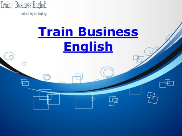 Train Business English