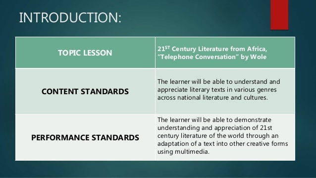 an introduction to the genres in literature and the world of texts Comptency map 21st literature of the  world history and world literature texts  map 21st literature of the philippines and.