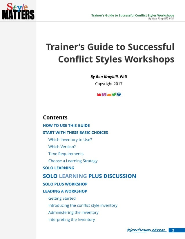 Conflict Management - Chalmers Publication Library CPL