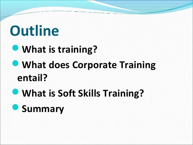 Training...why Soft Skills are Important Slide 2