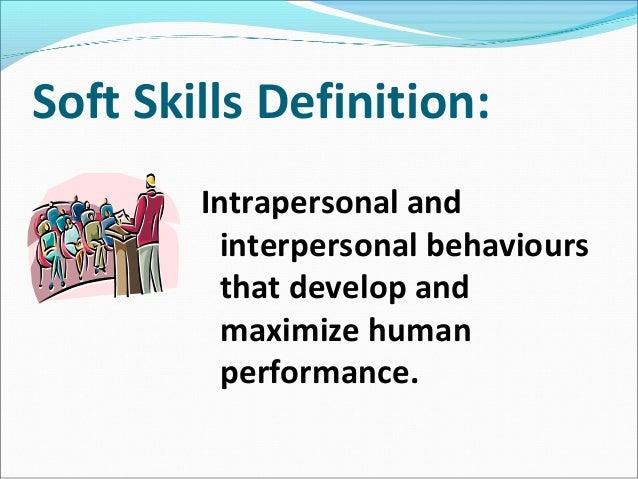 Soft Skills ... Regarding What Are Soft Skills