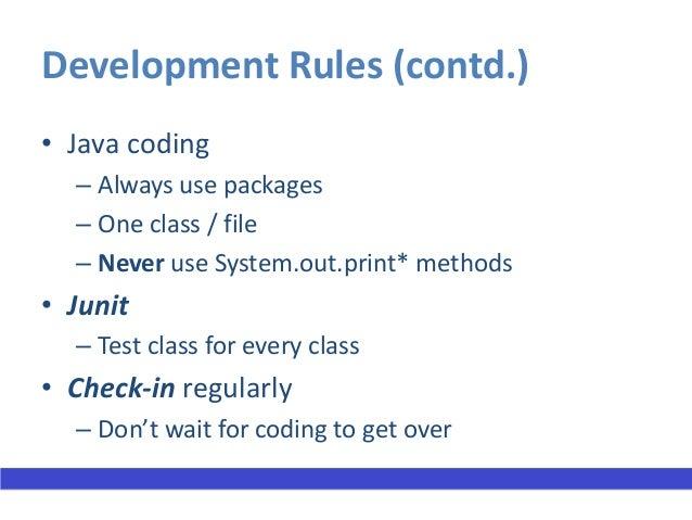 Useful commands• To make jar files  – jar cvf <jar file>.jar –C target/    com/evolvus/training/anisht/<*.class>  – jar cv...