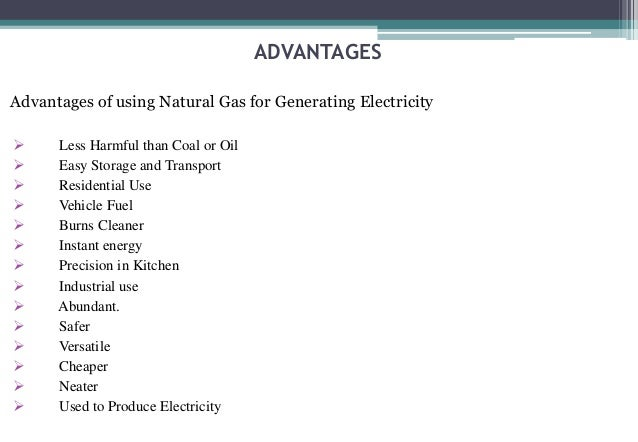 Advantages Of Natural Gas >> Training Ntpc