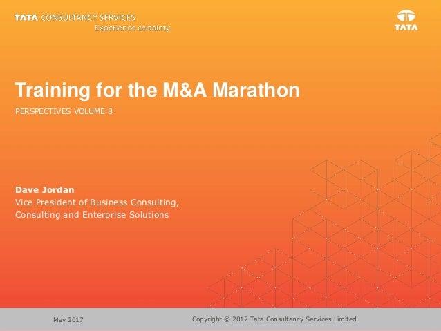 Training for the M&A Marathon
