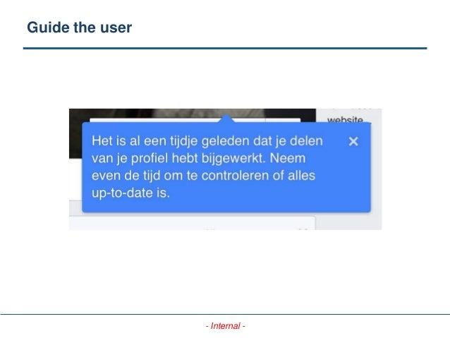 - Internal - Guide the user