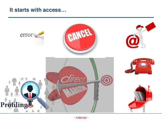 - Internal - It starts with access…