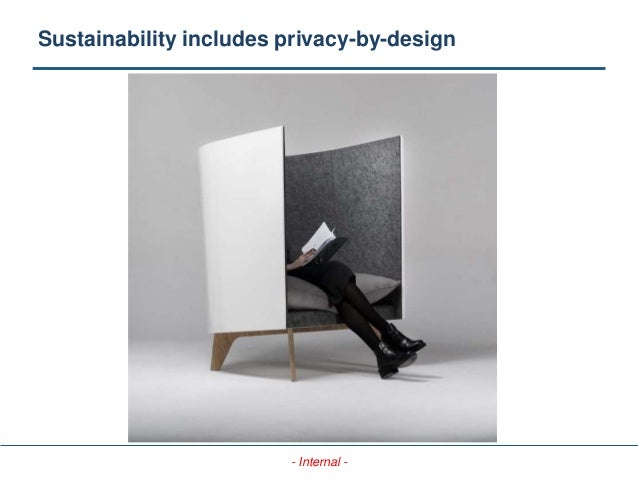 - Internal - Sustainability includes privacy-by-design