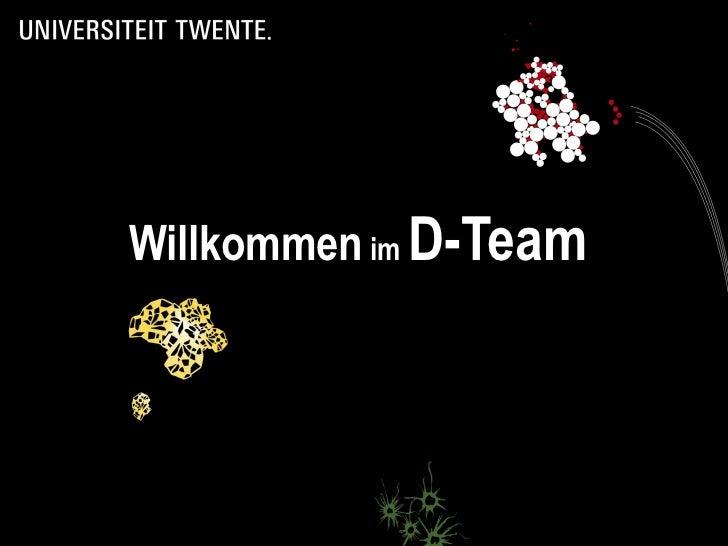Willkommen  im  D-Team