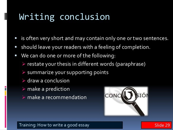 study skills conclusion Conclusion about time management time management, like any other skill, is not hard to develop time should be kept not as an enemy, but as.