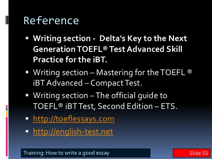 keys to writing a good college essay