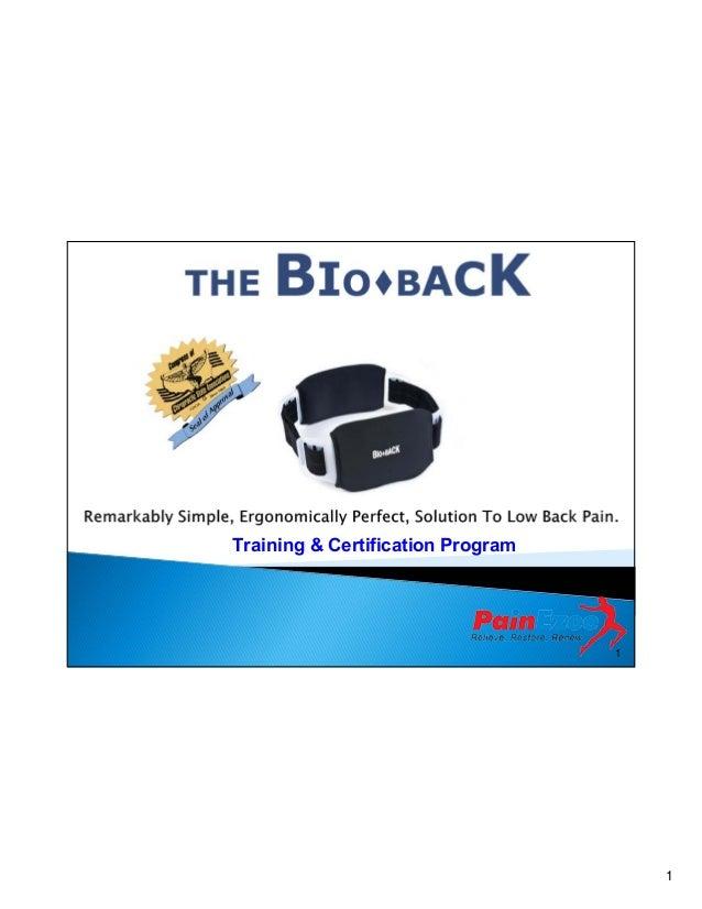 Training & Certification Program  1  1