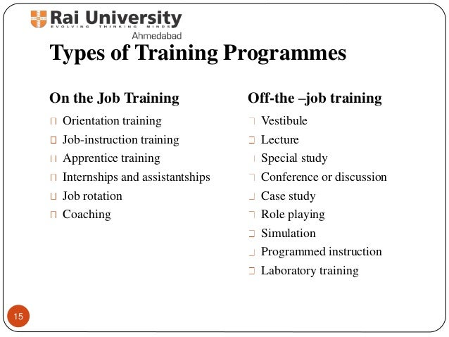 training and development of hrm Training and development refers to the imparting of specific skills, abilities and knowledge to an employee.