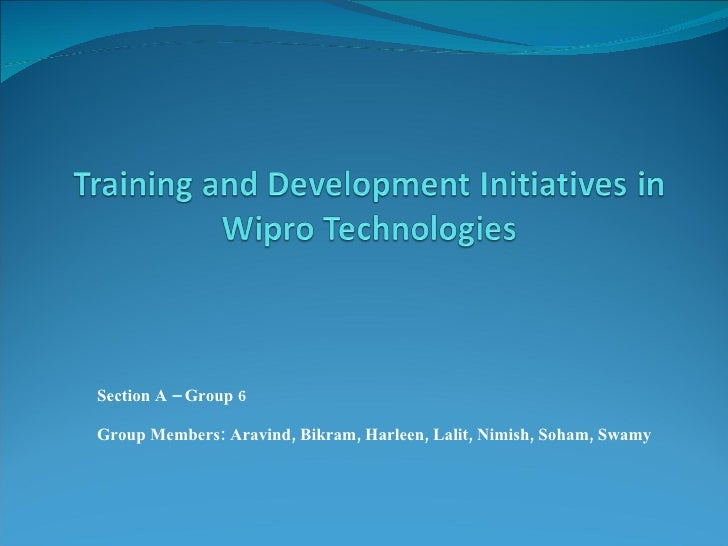 wipro technologies historical development Service provider of technology solutions, custom software development & game development offered by wipro technologies from coimbatore, tamil nadu, india.