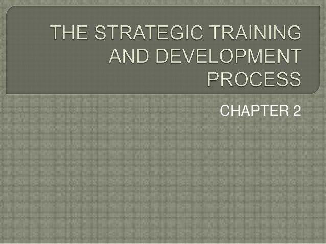 strategic training process