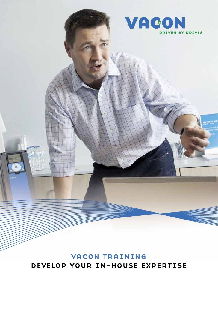 vacon trainingdevelop your in-house expertise