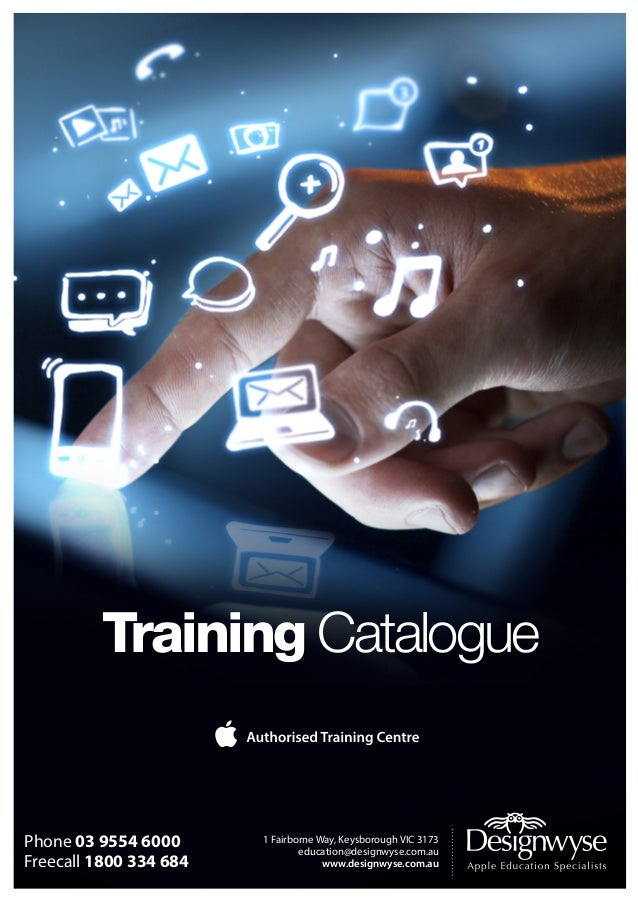 Training Catalogue  Phone 03 9554 6000 Phone  1800 334 684 Freecall 03 9554 6000 Freecall   1800 334 684  1 Fairborne Wa...