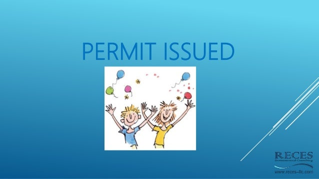 PERMIT ISSUED