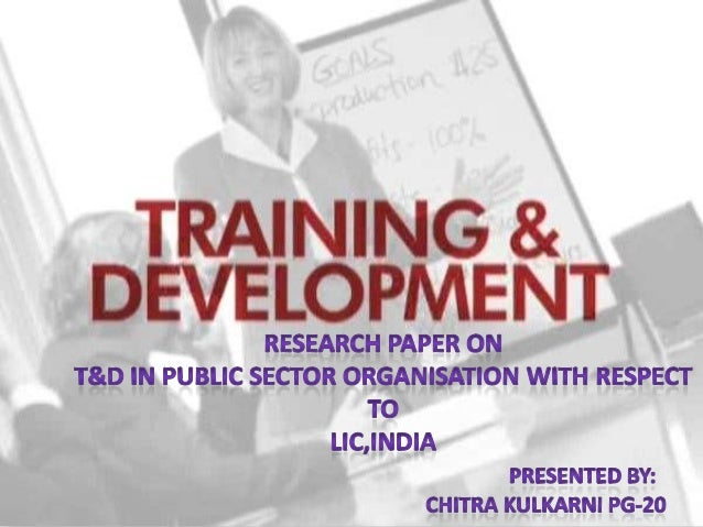 • To understand attitude of employees towards training  programmes• To know the effect of training on the employees perfor...
