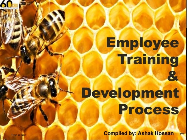 Train to Gain  Compiled by: Ashak Hossan  1  Employee Training & Development Process