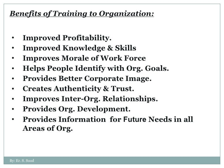benefits gained in ojt There are many benefits of on the job training, including increased productivity,  better employee retention and higher morale among the workforce.