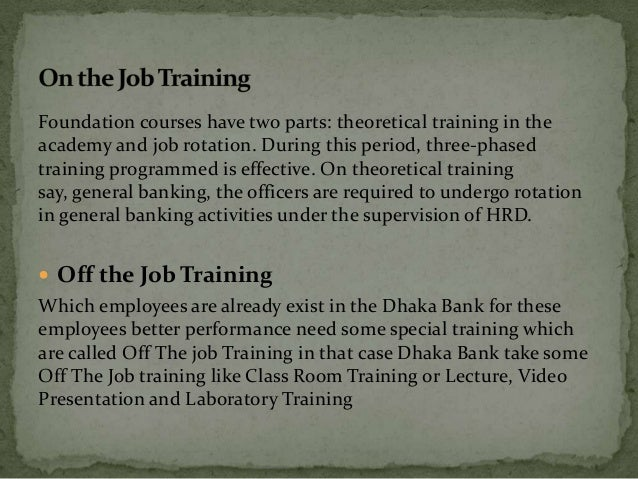 what to put under special training on job application