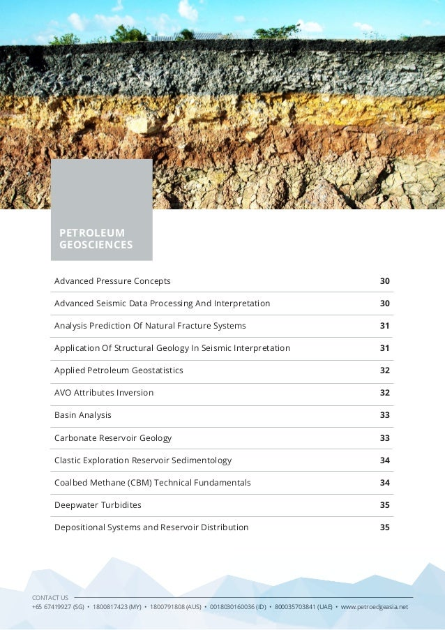 application of sturctural geology to petroleum The department of geology and geological engineering offers professional master applied geochemistry, applied structural geology  gegn438 petroleum geology.