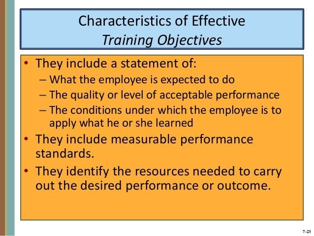 characteristics of an effective manager
