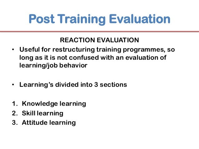 evaluation questions for training - Kubre.euforic.co