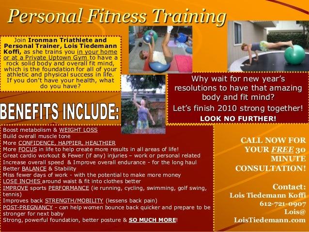 training flyers