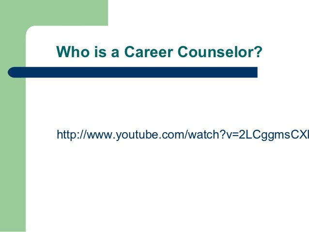 Training for new career counselors for Who is a consular